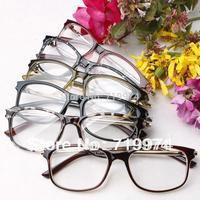 Star Style Metal Glasses For Men, 2014 New Fashion Women Myopia Glasses Frames Eyeglasses Frame Decoration Spectacles Black