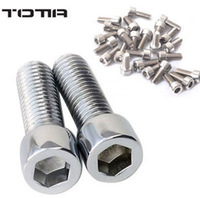 Wholesale/Drop shopping-10 pcs/lot 13mm Stainless steel Bolt Bolts Screw for Bike Bicycle[D002047]