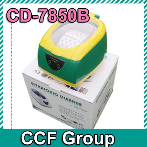Factory Price JIEKANG CD-7850B 750ML Ultrasonic Cleaner 5 gears timing Very Good to clean DVD!(China (Mainland))