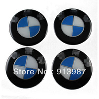 Free shipment 4pcs Car Center Hub Caps Wheel Cover Chrome Auto Car Emblem