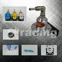 Free Shipping-Slivery Sard fuel pressure regulator with SARD gauge & original pack and logo