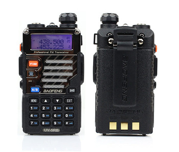 Walkie Talkie UHF&VHF A0850E Baofeng UV-5RB Interphone Transceiver Two-Way FM Radio Mobile Portable Handled