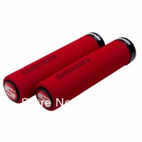 SRAM aluminum bike cover / bicycle bar end handlebar / bike bar end / bicycle grip / bicycle Grip red color