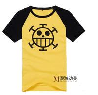 cosplay anime costume one piece zoro Trafalgar Law  Cotton Summer short-sleeved  T-shirt