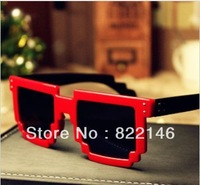 free shipping Unisex cute  sunglasses mosaic desgins sun glasses