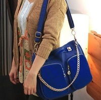 Hot! 2013 New winter bags nubuck leather bag shoulder bag messenger bag handbag women's free shipping