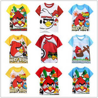 FREE SHIPPING !! In Stocked New Arrivals 100% cotton Children's Classic Cartoon T-shirt