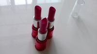 Free shipping, red shine lipsticks wholesale