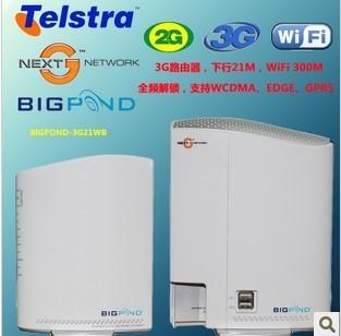 Bigpond  Netcomm 3g21wb  21M WCDMA 3G  wireless 300M  router / MC8700 3G module