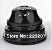 free shipping bicycle headset GH-212  Jackknifed tapered type bowl bearing headset carbon fiber front of the bowl GH-212
