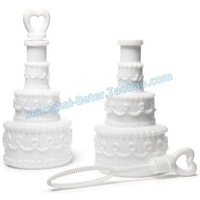 Free Shipping 24pcs Wedding Cake novelty Bubble Favors ZH026 Wedding Gift,Souvenir, favor Valentine's day
