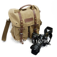 Canvas DSLR SLR Camera Shoulder Bag Backpack Bag With Inner Tank Bag For Sony Canon Nikon Olympus
