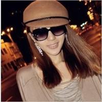 The new 12013 sunglasses ladies fashion polariscope glasses box glasses 1229