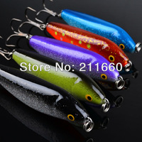 2015 Top Quality Fishing Lures 5 color 8.7cm/22.2g fishing tackle Minnow fishing bait 5pcs/lot freeship