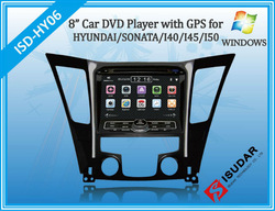 Gifts! Two Din 8 Inch Car DVD Player For HYUNDAI SONATA I40 I45 I50 YF 2011 With 3G Host Rear View Camera GPS BT TV Free Maps(China (Mainland))