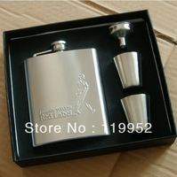 Johnnie Walker flagon thickened -7 ounce stainless steel gentleman Flagon