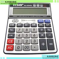 High quality plus solar electronic calculator with big display & fine function Calculator computer au-8040 calculator free shipp