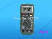 MASTECH MS8221C Digital Multimeter Automatic range small strap temperature capacitance test O072