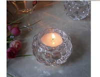 Free shipping!Romantic crystal glass wedding candle table tealight  candle holder for home decor crystal candlesticks