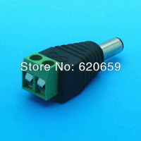 Male DC Adapter / Jack / Connector, Use for LED Strip, Female DC Transposon, DC Transform, 100pcs/lot
