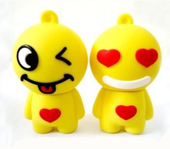 Free shipping Hotsale genuine capacity Lovely lover  Cartoon memory stick,USB Stick,usb flash1GB,2GB,4GB,8GB,16GB,32GB 64GB