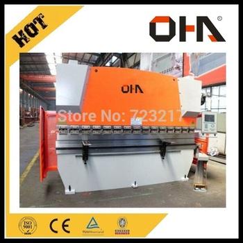 WC67Y- 100T/2500 hydraulic press brake/bending machine& Machine manufacture