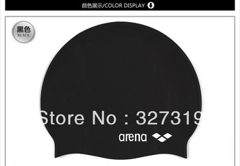 Fashion Flexible Durable Adult Sporty Silicone Swim Cap Swimming pool Hat New Freeshipping