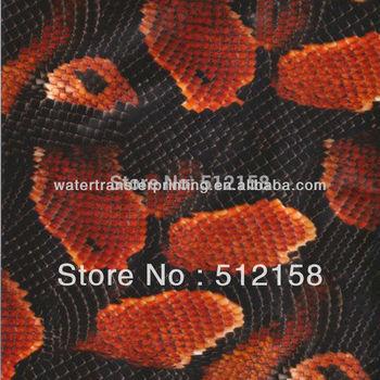 Animal Skin Patternwater transfer printing film&Water Transfer Printing Hydro Graphics Film - Boa Snakeskin GM1209