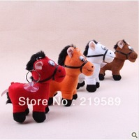 # Little Horse plush toys,keychain,phone pendant,4pcs per package,Free shipping