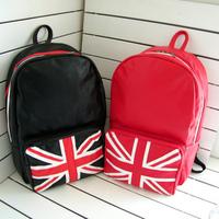 UK Flag Banner Backpack Shool Bag Student  free shipping