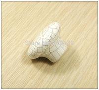 Ceramic  Furniture Kitchen Cabinet Door Pulls Drawer Porcelain Knobs Handles puxadores de armarios ceramica