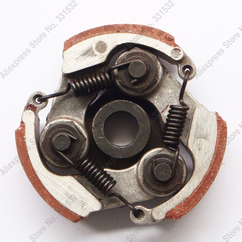 47cc 49cc 2 Stroke Clutch Pad Springs w/o without Keyway Mini Pocket ATV Quad Moto MX Pit Dirt Bike Go Kart Motorcycle Motorbike(China (Mainland))