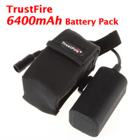 TrustFire 6400mAh 8.4V Rechargeable Battery Pack For Bicycle Front Flashlight Torch ! Free Shipping