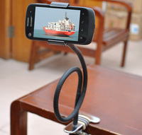 Brand New Flexible Rotatable Lazy Bed Tripod Holder Stand For Apple/iphones/iphone5/Mobile Phone /Cell phone Free/Drop Shipping