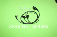 Acoustic tube Earpiece Mic for Icom Radio IC-F4S IC-F4TR IC-F3G IC- V8 V82 V85 F4062 4008 4088