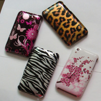 3pcs/lot NEW Fashion Zebra Butterfly Style Hard Shell Case Cover Skin for iPhone 3 3G Free Shipping