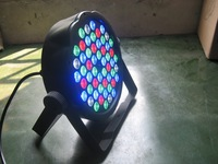 18pcs 3W flat led par light DMX512,RGB color mixing,sound acticated,110V-240V,1year quality warranty DMX Par can