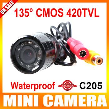 135 Degree Night Vision Car Rear View Reverse Backup Color Waterproof Type Color CMOS 420TVL Camera