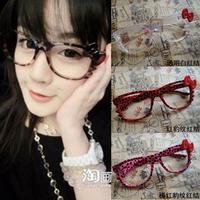 Kt07 kt cat HELLO KITTY belt whisker glasses eyeglasses frame