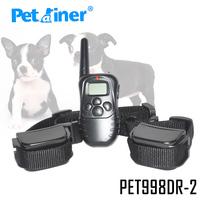 Free Shipping 100LV 300M Training Shock Collars 2 dogs