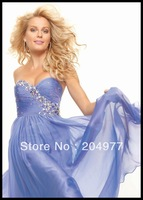 2013 Newest Beach Strapless Sleeveless  Alibaba Prom Gowns 93084