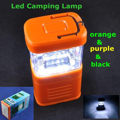 Airmail shipping,Novelty LED Outdoor Camping Lamp,LED Portable Mini Latern Light,11Leds,3pcs AA Battery,Led Camping Lamp(China (Mainland))