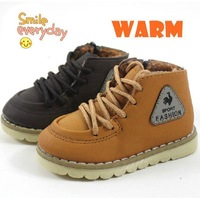2013 New Arrivals Baby Children  Thickening Cotton Padded Shoes Winter Cotton Boots For Boys and Girls