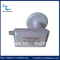 Ku Band prime focus LNB with high gain with LO 9.75/10.6GHz