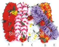 Party supplies artificial flower garland hawaiian flower lei