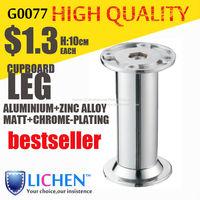 Aluminium alloy Furniture Cabinet legs Metal cabinet legs Sofa leg feet (4 pieces/lot) 38*100mm LICHEN