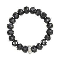 Crystal bracelet  black color tsb0054