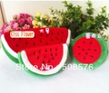 Watermelon Plush pen pencil bag Pouch case,Coin Purse & Wallet BAG, Cosmetics Beauty BAG Case, Pouch SACK 20pcs/lot