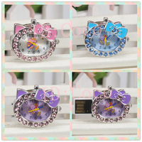 2GB-64GB crystal metal Hello Kitty Watch Necklace USB 2.0 flash drive