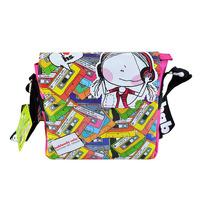 Hablando Handbags, overall printing messenger bags for teenagers, colorful cross body bag for girls,  famous character